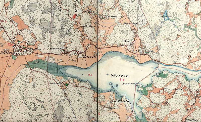 Sottern runt 1906